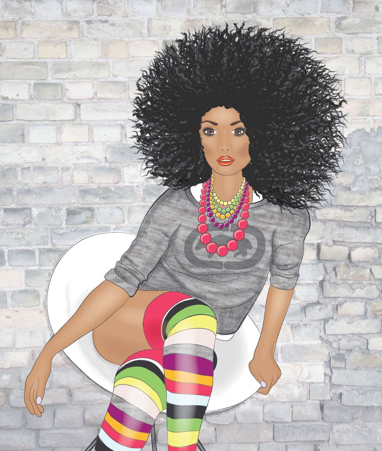 Emily Kiddy Fashion Illustration 3 Pinterest Find