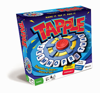 Enter to win the categories game Tapple. Giveaway ends 6/21.