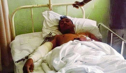 Lelaki Kemalangan Terpaksa Mengensot Selama 5 Hari Untuk Minta Bantuan