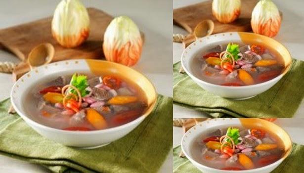 Resep Cara Membuat Sup Asem-asem Enak