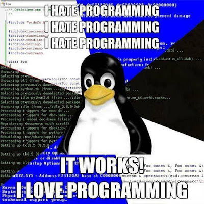 i hate programming, programming is difficult and complicated