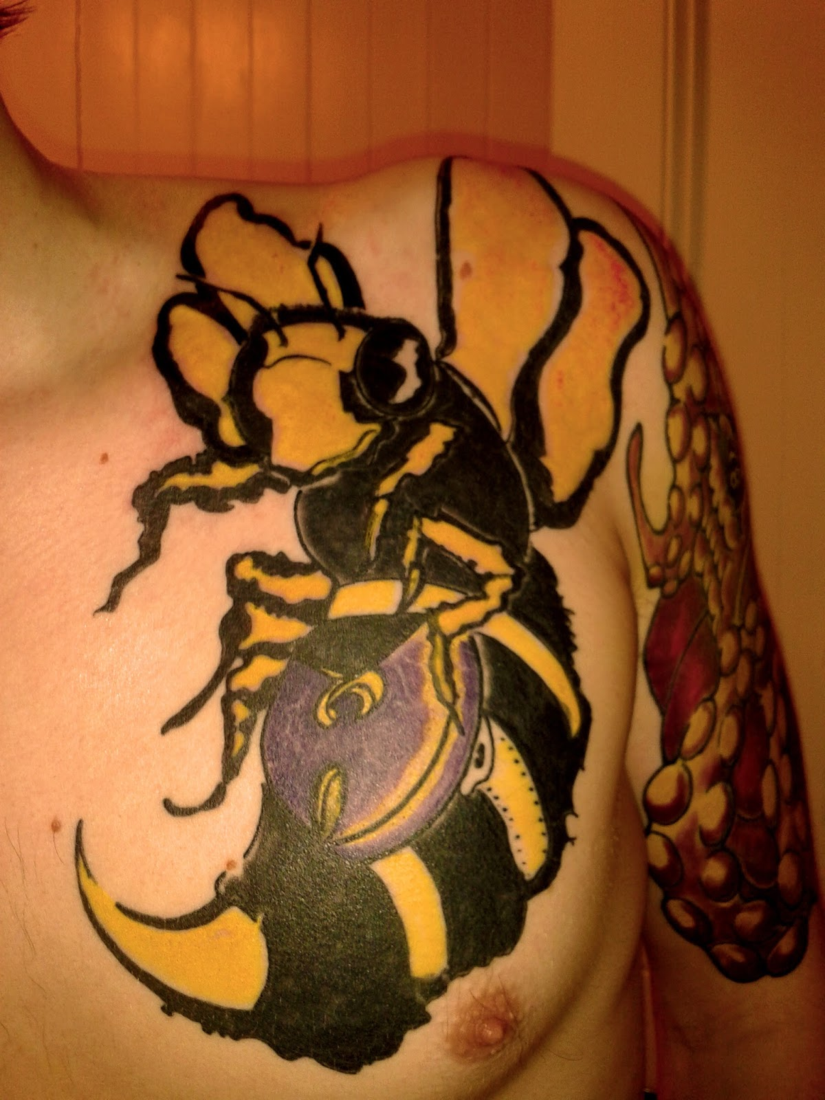 Top wu tang hockey jersey images for pinterest tattoos for Method man tattoo