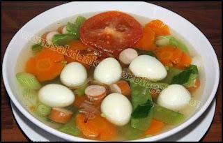 Resep Masakan | Sop Telur Puyuh