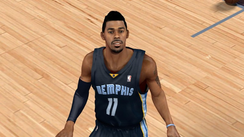 NBA 2K14 Mike Conley Face & Hair Update