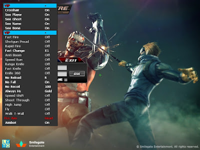 2nd Cheat Crossfire Indonesia Update Weekly (D3D Menu Extreem VVIP Mode Wh, AutoHS, Aim, Fullhack Dll