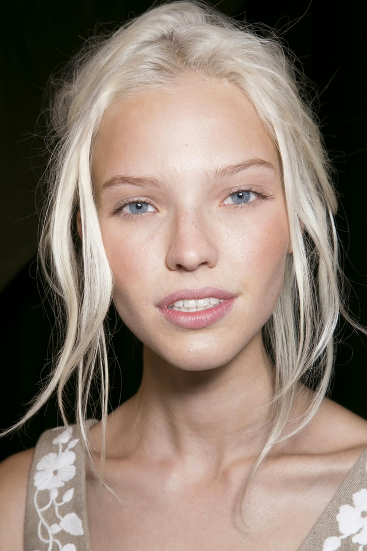 Sasha Luss model Valentino beauty ss14