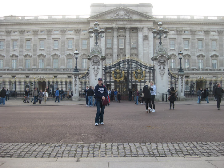 Jag i mitt älskade London