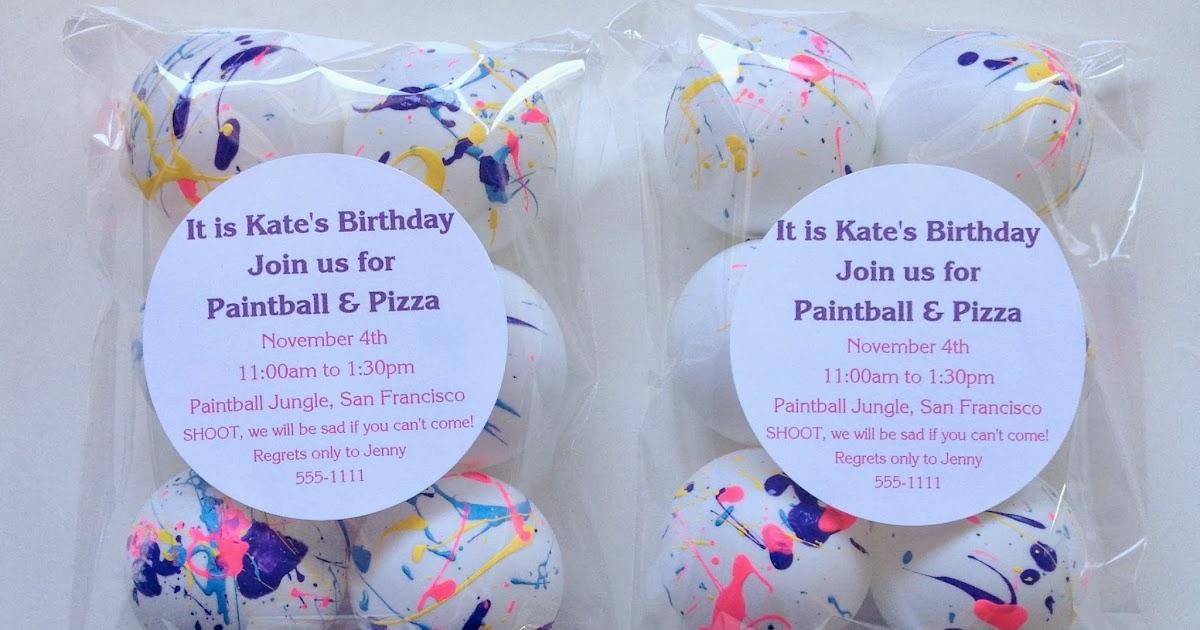 Paintball Birthday Invitation PLASTIC Paintball Birthday Birthday Invite Paintball Birthday Invitation Paintball Birthday Paintball
