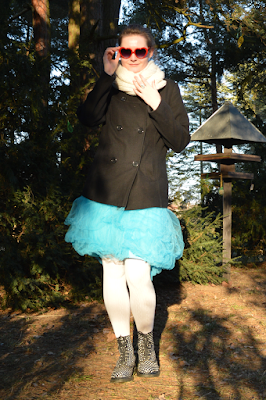 quaintrelle, georgiana, quaint, outfit, ootd, diy, tulle skirt