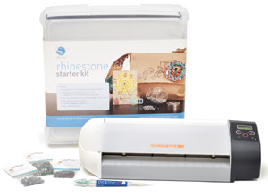 rhinestone starter kit for silhouette sd machine