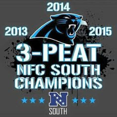 NFC SOUTH 2013 Champs!