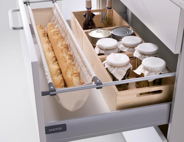 Complementos para organizar los cajones de la cocina for Complementos cocina