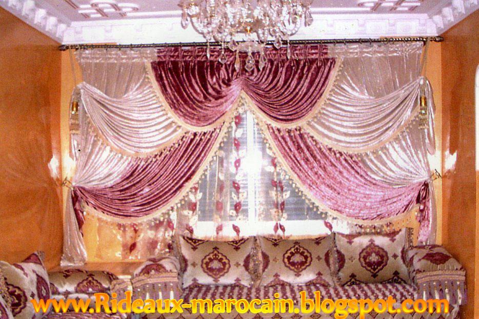 rideau salon marocain car interior design