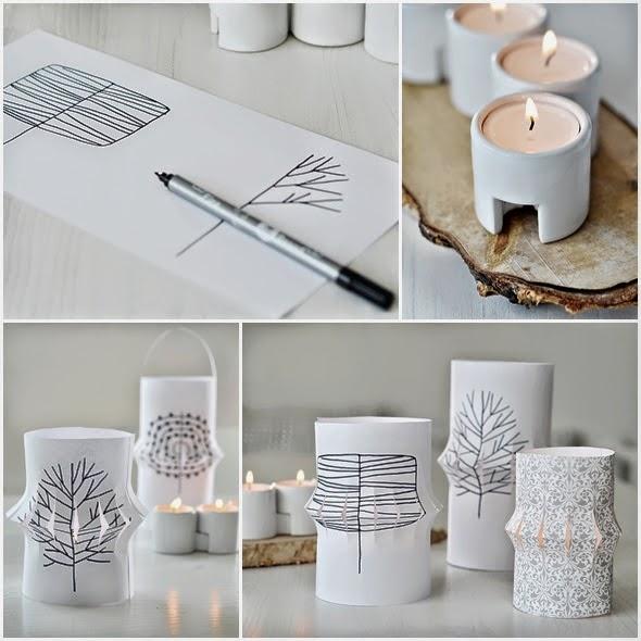Farolillos de papel decorar tu casa es for Farolillos de decoracion