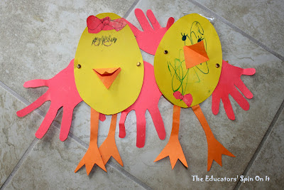 Easter Crafts and Activities for Toddlers from The Educators' Spin On It