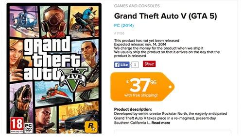 GTA 5 PC Sürümü Çıkış Tarihi