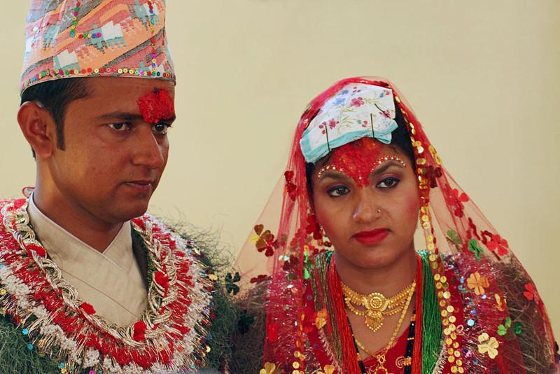 Nepali pre wedding rituals for Wedding dress nepali culture