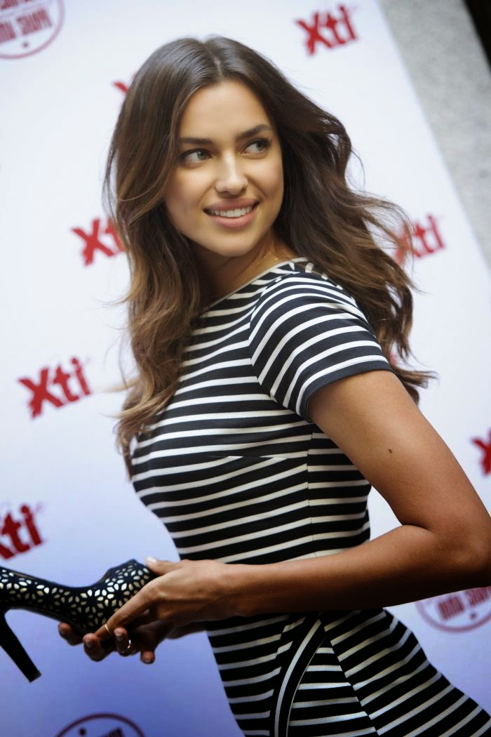 On another day job, the Russian beauty, Irina Shayk posed for the cameras for Xti Promo event at Spain on Friday, May 9, 2014.