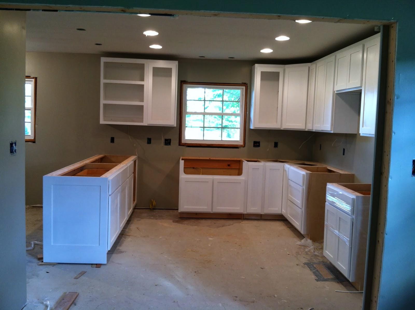 The barker cottage for Barker kitchen cabinets