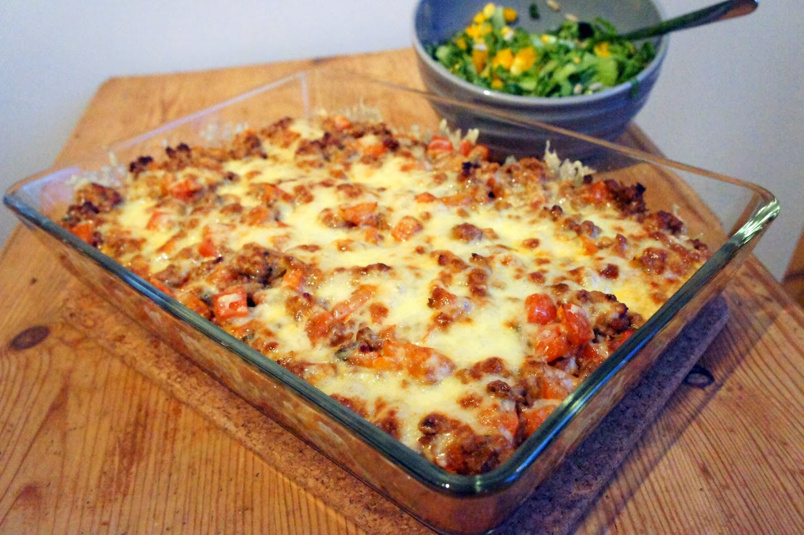 aubergine köttfärs lasagne