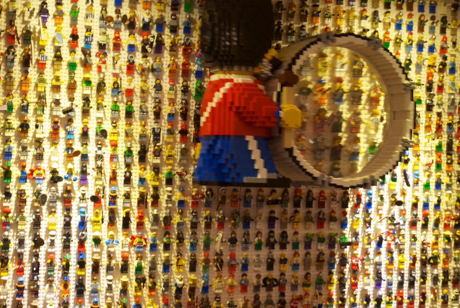 Inside There Are Fabulous Displays Of Lego Minifigures In