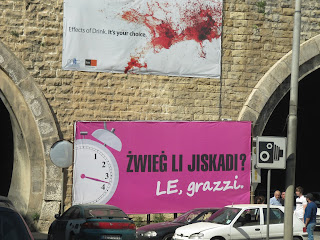 Malta Divorce Billboard