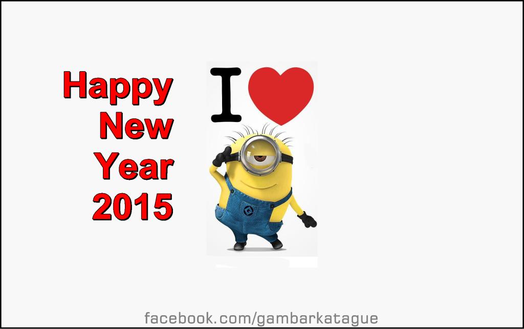 Gambar dan Foto DP BBM spesial Tahun Baru 2015
