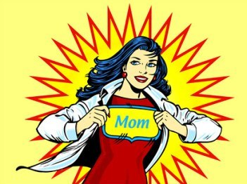 supermom Busy Mom? Yes. Super Mom? No More.
