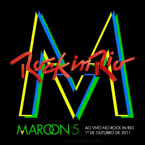 Maroon 5 - Rock In Rio (2011) affiche