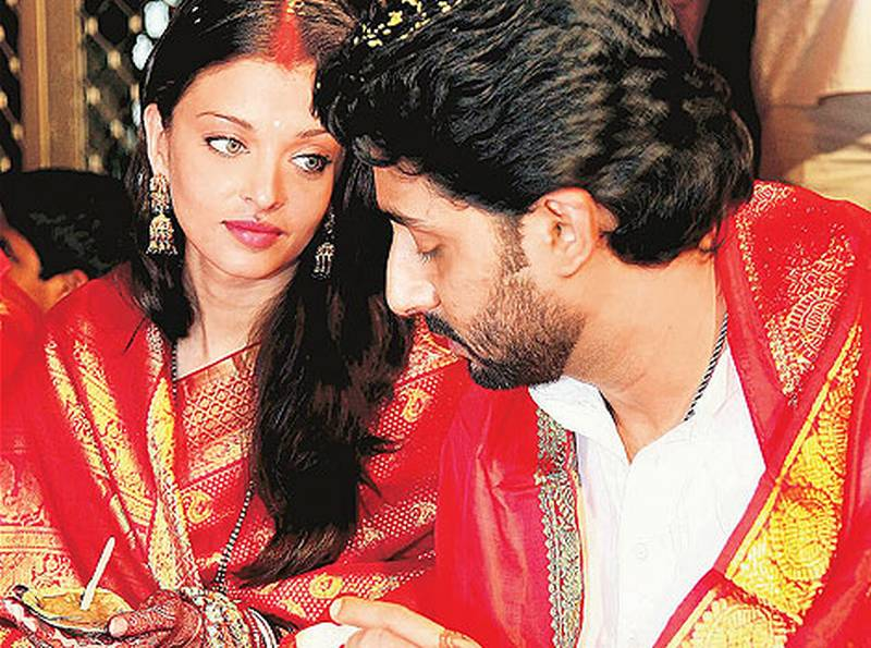 aishwarya rai wedding. aishwarya rai marriage pics