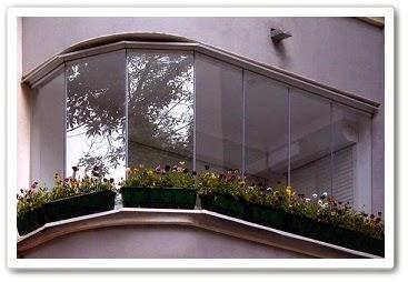 Современные балконы и их остекление