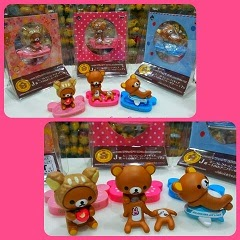 (INSTOCK) Click Photo To See Japan Limited Edition 10th Anniversary Rilakkuma Figures For Sale