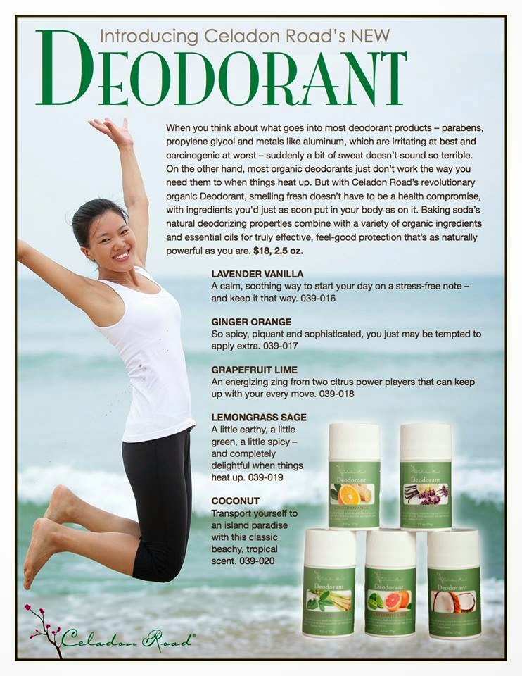 Review of Celadon Road Coconut Deodorant