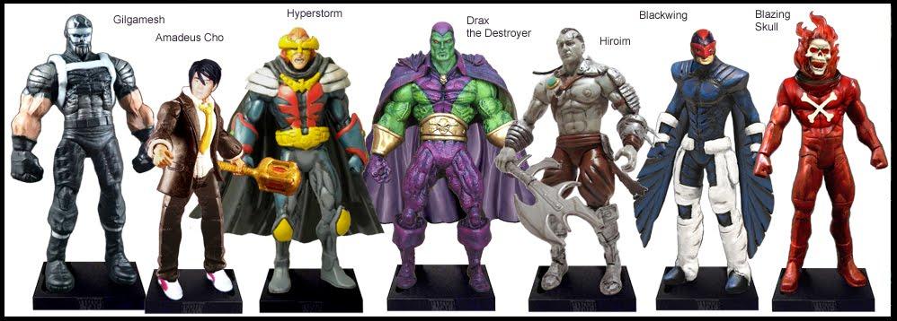 <b>Wave 50</b>: Gilgamesh, Amadeus Cho, Hyperstorm, Drax, Hiroim, Blackwing and Blazing Skull
