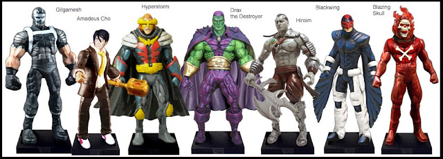<b>Wave 50</b>: Gilgamesh, Amadeus Cho, Hyperstorm, Drax, Hiroim, Blackwing and Blazing Skull