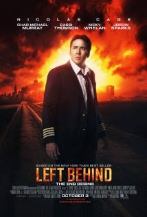 left behind (2014) movie poster