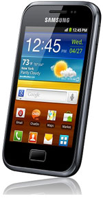 Samsung Galaxy Ace Plus Hits Vodafone UK