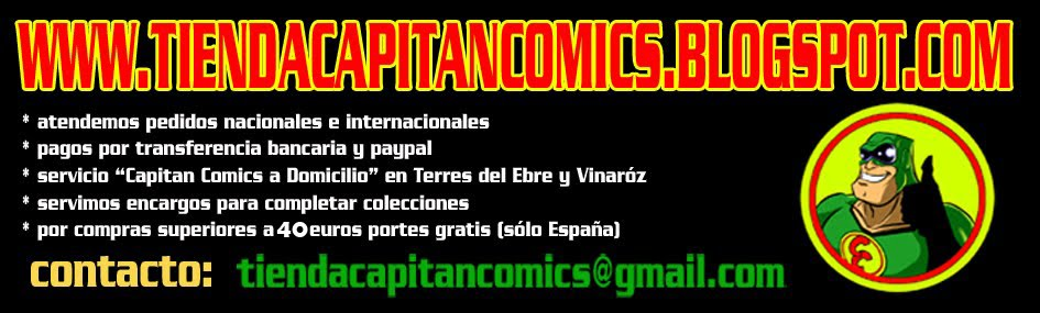 TIENDA CAPITAN COMICS