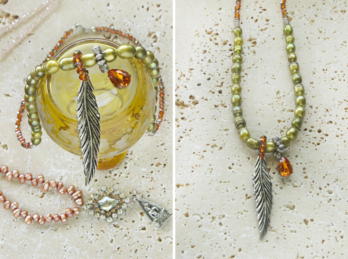 Indie necklaces by Allison Beth Cooling