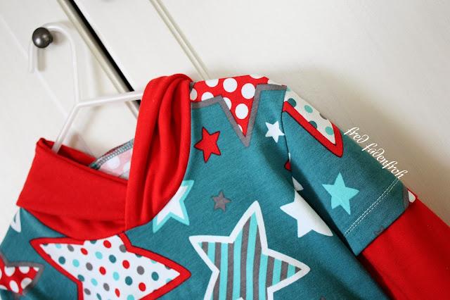 LayerLookShirt, mommymade, Stoffwelten, Sterne