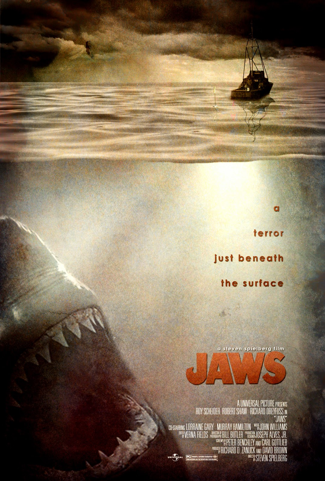 is jaws a horror movie Jaws is a 1975 american thriller film directed by steven spielberg and based on peter benchley's 1974 novel of the same name the prototypical summer blockbu.