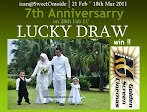 @18 mac : IZAN@SweetOmoide 7th Anniversarry Lucky Draw