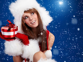Merry Christmas pictures images sexy girl 2014