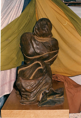 Carmen Carrillo. Talla en Madera.