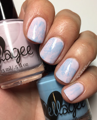 ellagee 2016 Pantone Duo; A Breath Of Pink and Bella Blue