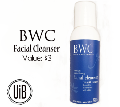 BWC Facial Cleanser by @unitedinbeauty