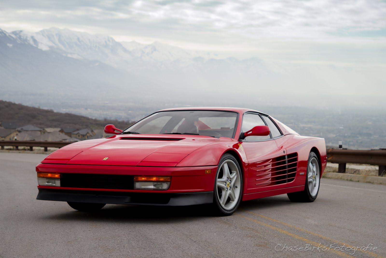 Ferrari Testarossa | Carbon Fotos by Chase Birks