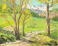 """Spring Grass, Markleeville"""