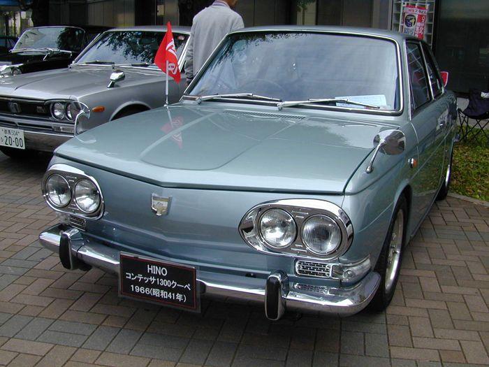 Hino Contessa, japoński stary samochód, klasyk, JDM,  日野, 日本車