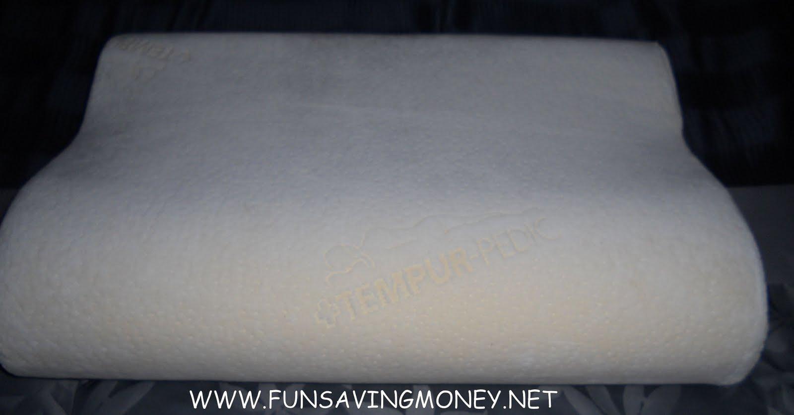 Tempur Traditional Pillow Medium Review : Sleepy s Tempur-Pedic Medium Neck Pillow Review and Giveaway! - Fun Saving Money